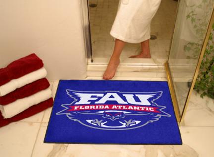 """Florida Atlantic Owls 34"""" x 45"""" All Star Floor Mat"""