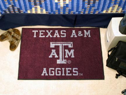 Texas A & M Aggies 19in x 30in Starter Mat