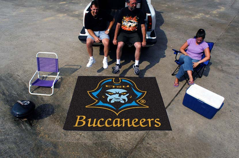 East Tennessee State Buccaneers 5' x 6' Tailgater Mat