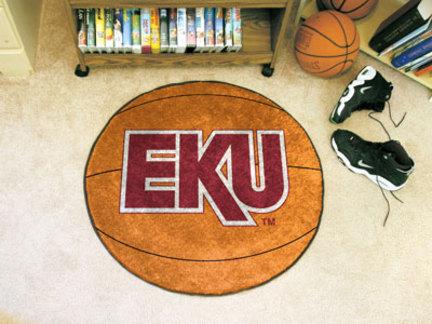 """27"""" Round Eastern Kentucky Colonels Basketball Mat"""