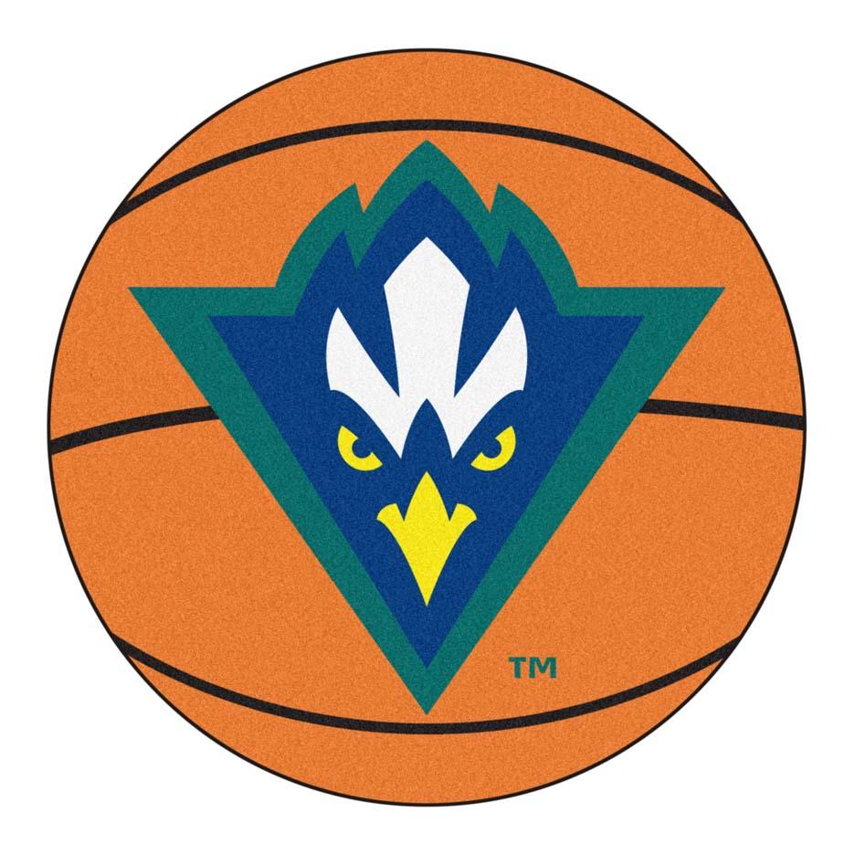 "27"" Round North Carolina (Wilmington) Seahawks Basketball Mat"