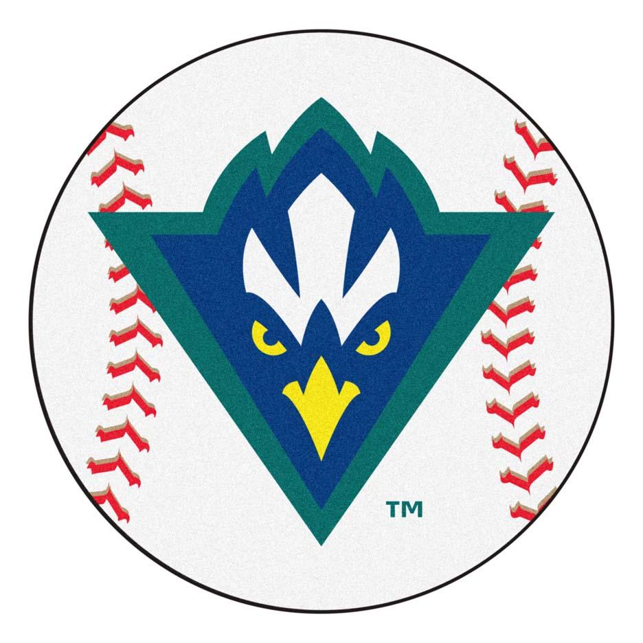 "27"" Round North Carolina (Wilmington) Seahawks Baseball Mat"