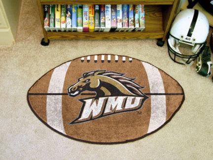 "22"" x 35"" Western Michigan Broncos Football Mat"