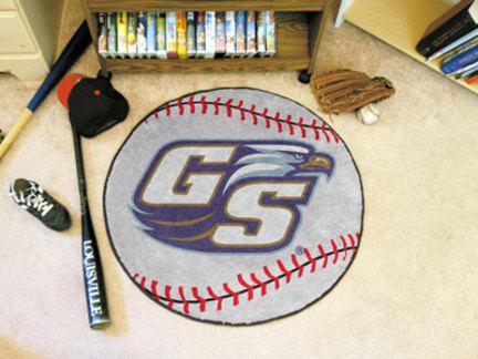 "27"" Round Georgia Southern Eagles Baseball Mat"
