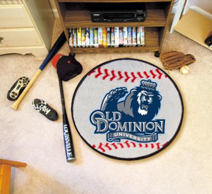 "Old Dominion Monarchs 27"" Round Baseball Mat"