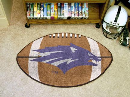 """22"""" x 35"""" Nevada Wolf Pack Football Mat"""