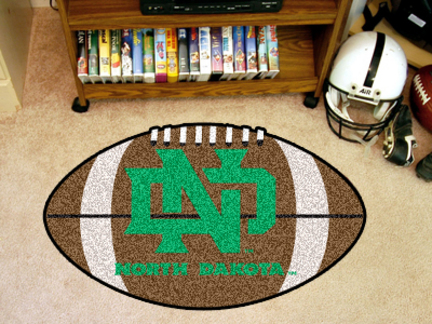 North Dakota  Sioux 22 x 35 Football Mat