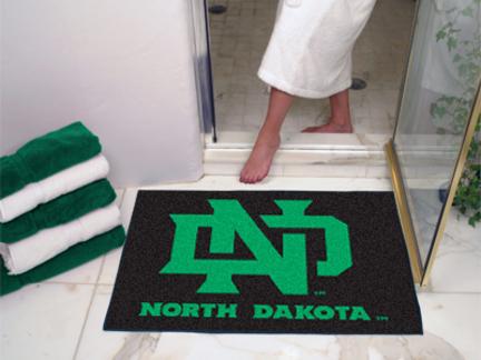 North Dakota  Sioux 27 Round Baseball Mat