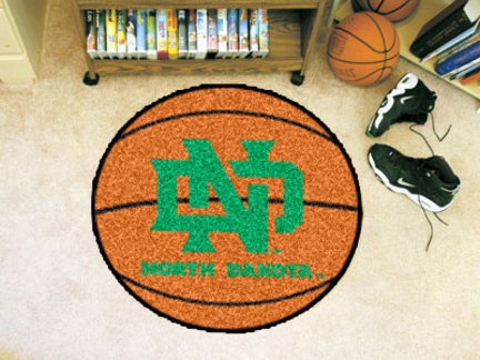 North Dakota  Sioux 27 Round Basketball Mat