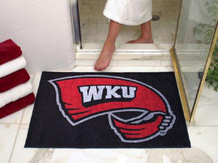 """34"""" x 45"""" Western Kentucky Hilltoppers All Star Floor Mat"""