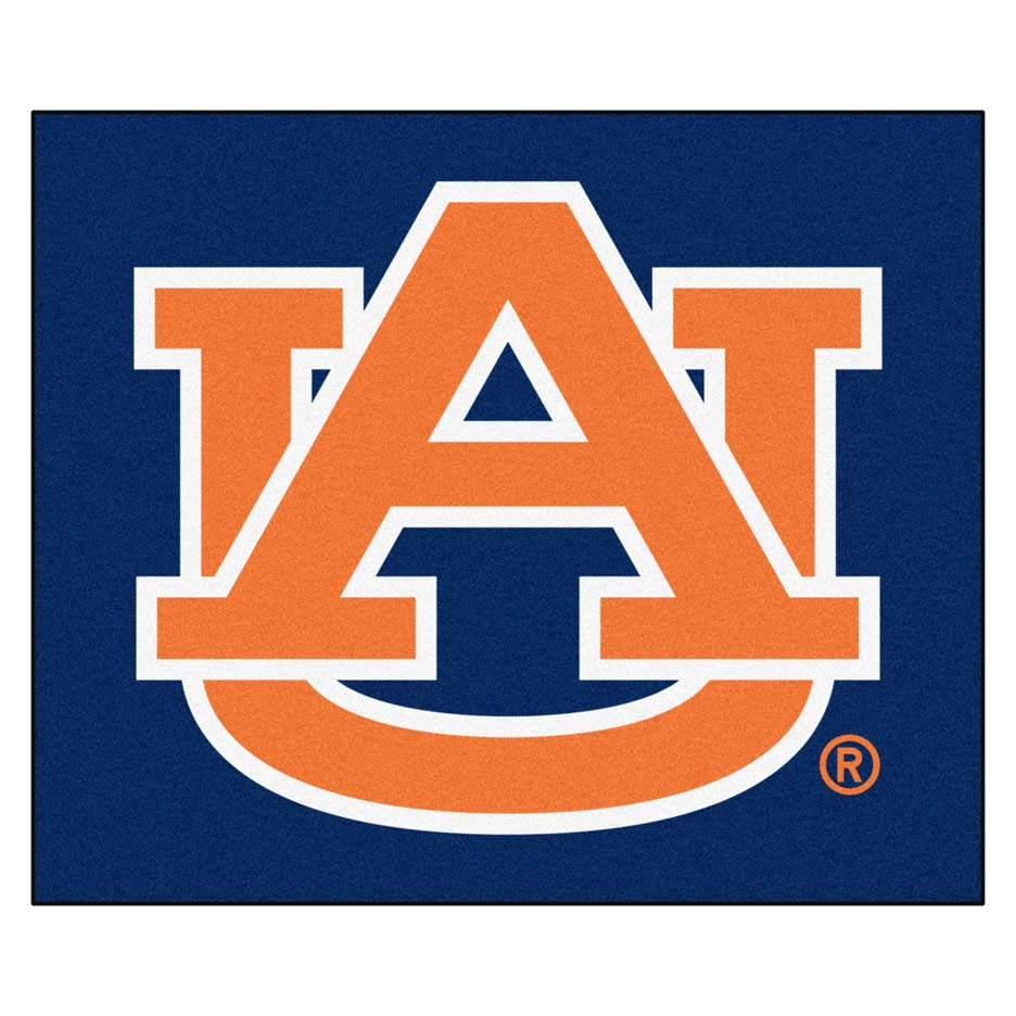 Auburn Tigers 5' x 6' Tailgater Mat (with