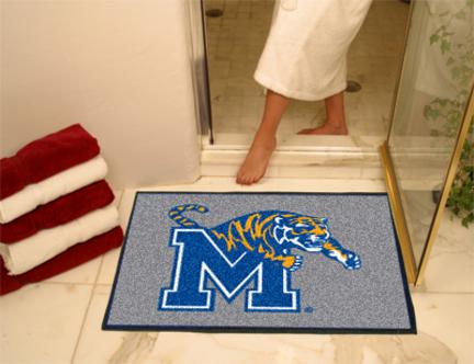 "34"" x 45"" Memphis Tigers All Star Floor Mat"