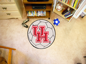 "27"" Round Houston Cougars Soccer Mat"