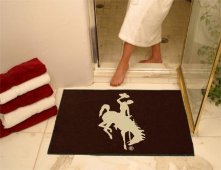 34 x 45 Wyoming Cowboys All Star Floor Mat