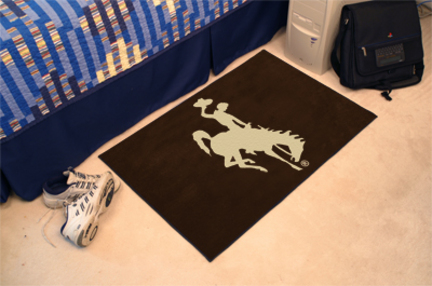 """Wyoming Cowboys 19"""" x 30"""" Starter Mat"""
