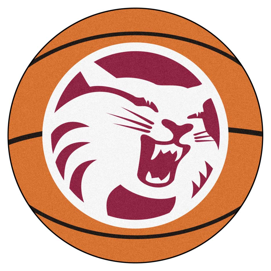 "27"" Round California State (Chico) Wildcats Basketball Mat"