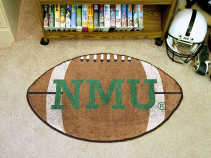 "Image of 22"" x 35"" Northern Michigan Wildcats Football Mat"