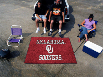 5' x 6' Oklahoma Sooners Tailgater Mat