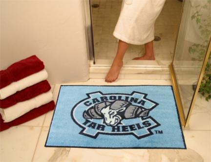 North Carolina Tar Heels 34in x 45in All Star Floor Mat