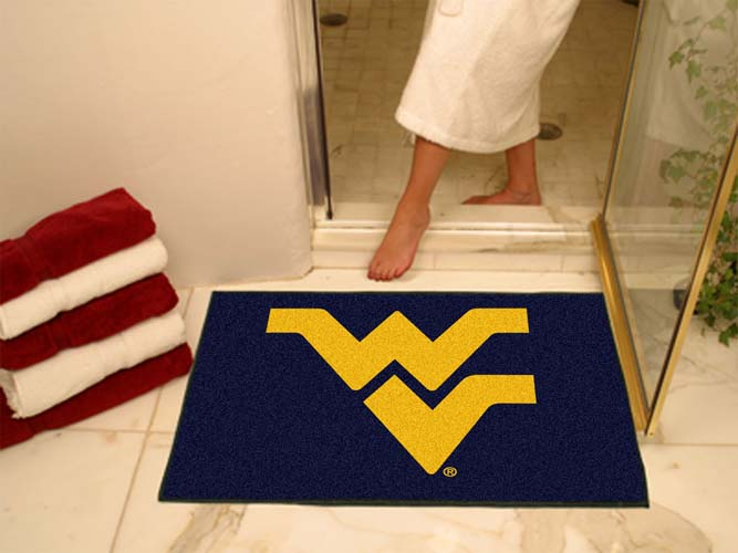"""34"""" x 45"""" West Virginia Mountaineers All Star Floor Mat"""