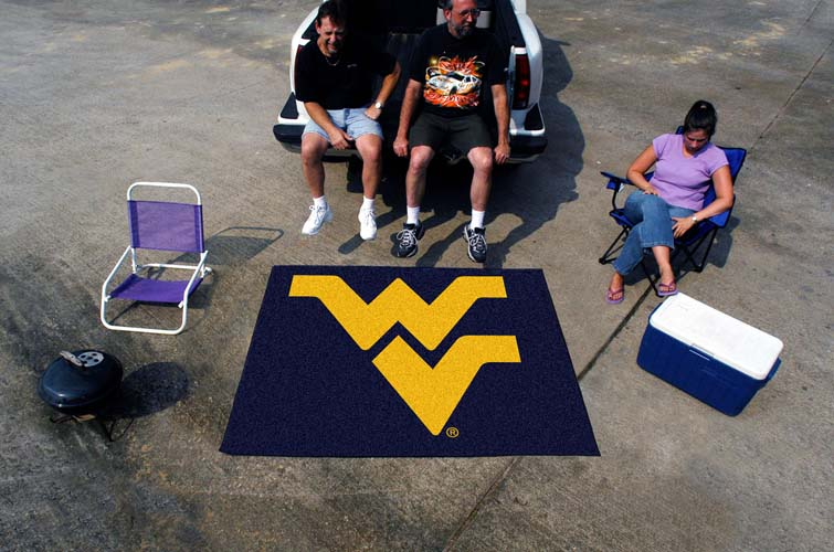 5 x 6 West Virginia Mountaineers Tailgater Mat