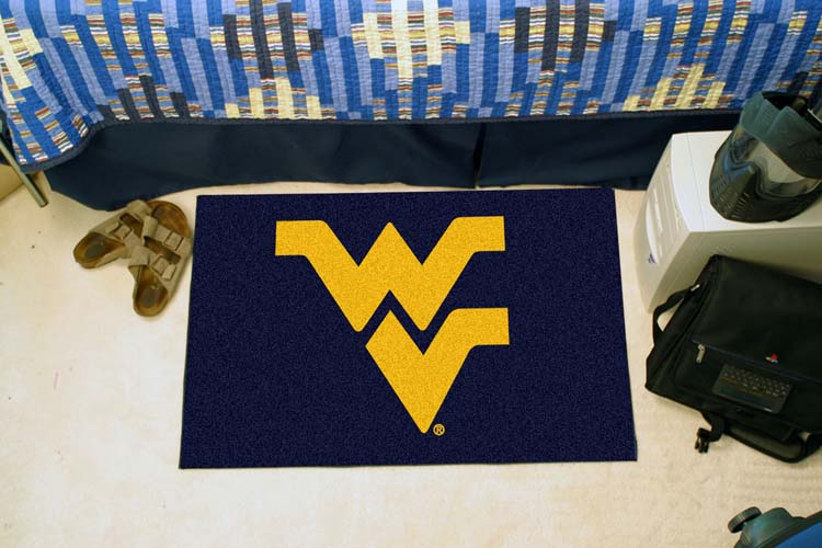 """West Virginia Mountaineers 19"""" x 30"""" Starter Mat"""