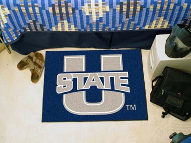 """Utah State Aggies 19"""" x 30"""" Starter Mat"""