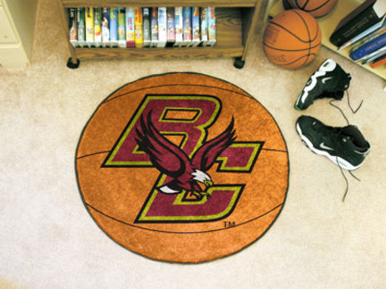 "27"" Round Boston College Eagles Basketball Mat"