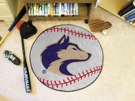"27"" Round Washington Huskies Baseball Mat"