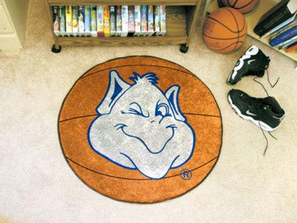 """27"""" Round St. Louis Billikens Basketball Mat"""