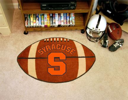 "22"" x 35"" Syracuse Orangemen Football Mat"
