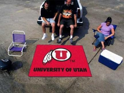 5' x 6' Utah Utes Tailgater Mat