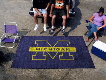5' x 8' Michigan Wolverines Ulti Mat