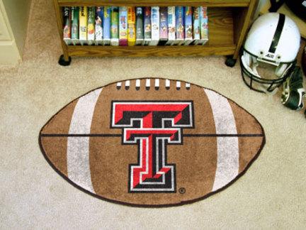 "22"" x 35"" Texas Tech Red Raiders Football Mat"