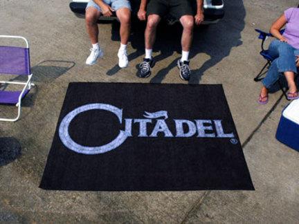 Citadel Bulldogs 5' x 6' Tailgater Mat
