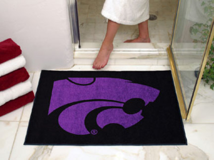 34in x 45in Kansas State Wildcats All Star Floor Mat