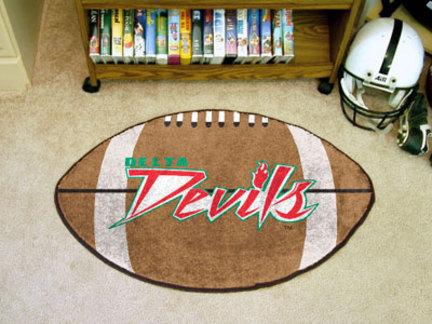 "22"" x 35"" Mississippi Valley State Delta Devils Football Mat"