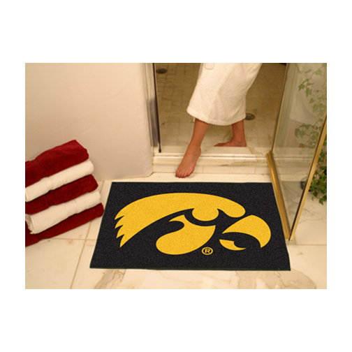 "34"" x 45"" Iowa Hawkeyes All Star Floor Mat"