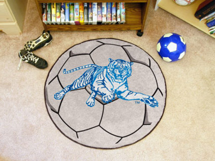 """Jackson State Tigers 27"""" Round Soccer Mat"""