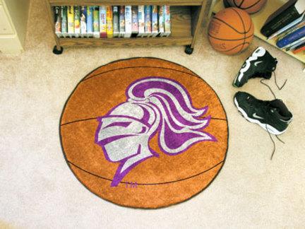 "27"" Round Holy Cross Crusaders Basketball Mat"
