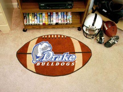 """Drake Bulldogs 22"""" x 35"""" Football Mat"""