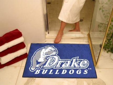 "Drake Bulldogs 34"" x 45"" All Star Floor Mat"