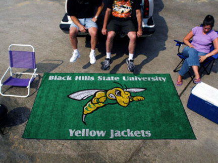5' x 8' Black Hills State Yellow Jackets Ulti Mat