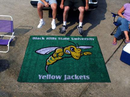 5' x 6' Black Hills State Yellow Jackets Tailgater Mat