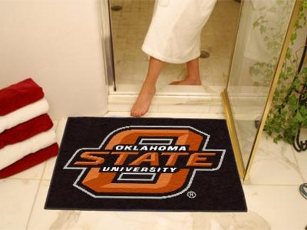 34in x 45in Oklahoma State Cowboys All Star Floor Mat