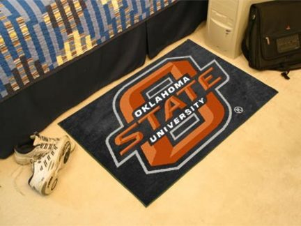 Oklahoma State Cowboys 19in x 30in Starter Mat