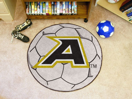 """Army Black Knights 27"""" Round Soccer Mat"""