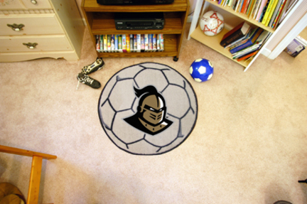 """27"""" Round UCF (Central Florida) Knights Soccer Mat"""