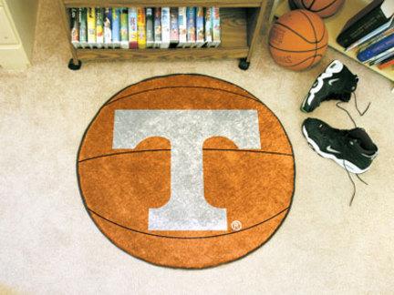 27 Round Tennessee Volunteers Basketball Mat