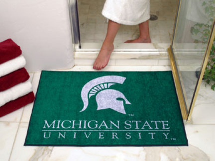 "34"" x 45"" Michigan State Spartans All Star Floor Mat"